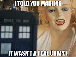 Marilyn Meme - tardis marilyn meme by travelingtardis on deviantart