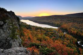 Michigan mountains images Lake of the clouds quot sunrise in michigan 39 s porcupine mount flickr jpg