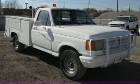2011 Ford F250 Utility Truck - 1991 ford f250 custom utility pickup truck item 8112 sol