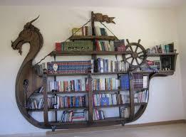 viking ship bookshelf home pinterest vikings ships and room