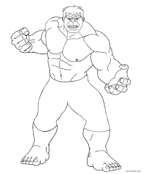 free printable hulk coloring pages kids cool2bkids