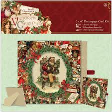docrafts papermania victorian christmas collection
