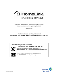 program homelink garage door opener diy for programming the homelink garage door opener gdo in the