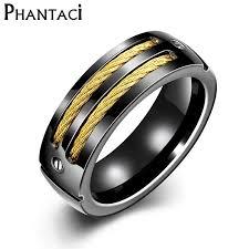 black rock rings images V ya fashion stainless steel men rings 2017 luxury brand simlple jpg