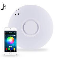 Flush Mount Ceiling Light Shade Horevo Music Led Flush Mount Ceiling Light Fixture With Bluetooth