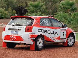 world auto toyota toyota corolla rally car u00272005 u201307