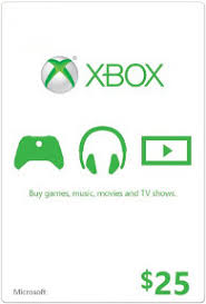 xbox live gift card xbox live gift card with 25 credit tunezip
