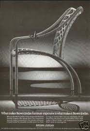 Vintage Brown Jordan Outdoor Furniture by Vintage Furniture Ads Of The 1970s