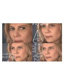 Blank Meme Templates - confused math lady blank template imgflip