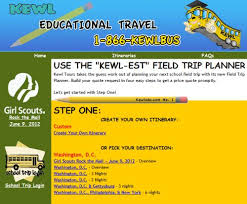free online sites and resources to plan your educational field trips