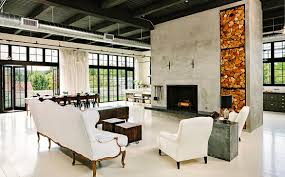 greatest selection concrete fireplace ideas for living