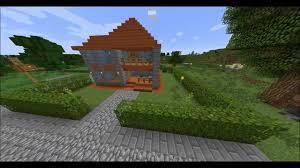 Small House Minecraft Minecraft Small House 2 Acacia Wood House Youtube