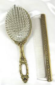 vintage comb 23 best hair brush and comb set images on dresser sets