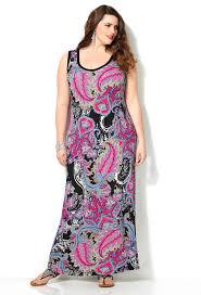 paisley print maxi dress plus size maxi dress avenue sarah slick