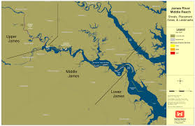 Virginia Flood Map by Norfolk District U003e About U003e Projects U003e James River Navigation