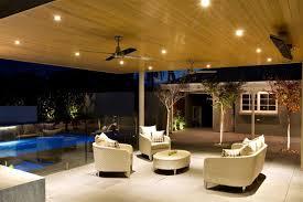 exterior entrancing outdoor living space decoration using dark