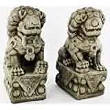 fu dogs asian foo dogs fu dogs garden statues pair