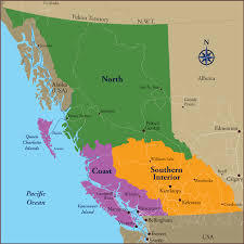 map of bc find a site discover cing reservation system