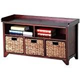 Wood Storage Benches Amazon Com Wood Storage Benches Entryway Furniture Home