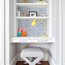 White Kid Desk Kid Room With Desk Contemporary Boy S Room Stonewood Llc