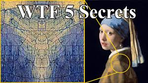 pearl earring painting 5 secrets of girl with a pearl earring painting