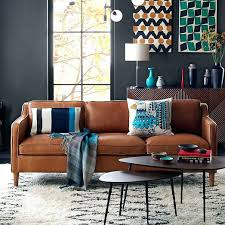 west elm leather sofa reviews west elm leather couch thedropin co