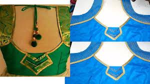 blouse designs diwali silk saree blouse design cutting stitching classes