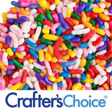 crafters choice sprinkles carnival colors wholesale