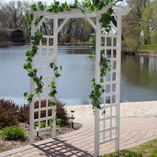 lowes wedding arches fence home depot trellis lattice lowes ideas collection plastic