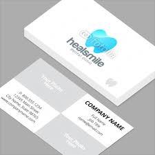 Dental Business Card Designs Business Cards Standard Horizontal Customizable Design