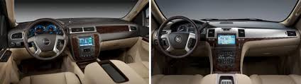 2013 cadillac escalade interior gm to further differentiate interiors and exteriors of redesigned