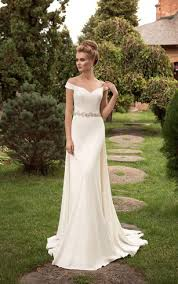 the shoulder wedding dresses sheath bridal dresses cheap column wedding gown dorris wedding