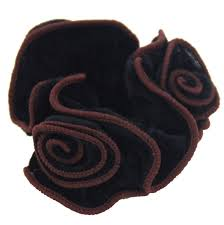 hair scrunchie aliexpress buy flower velvet hair scrunchie