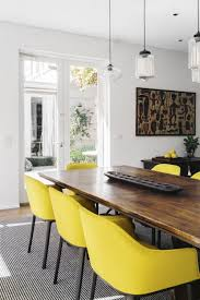 modern dining room pendant lighting brightens sunny melbourne home