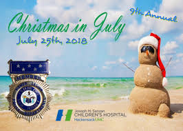 christmas in july christmas in july the new jersey police honor legion