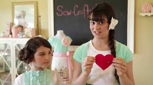 dish towel apron sewing video tutorial with sew crafty kids youtube