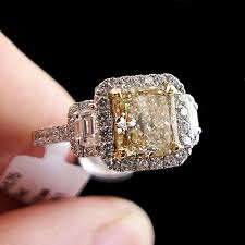 fancy yellow diamond engagement rings best 25 yellow diamond engagement ring ideas on