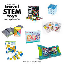 the best travel stem toys for kids ages 4 to 14 left brain craft