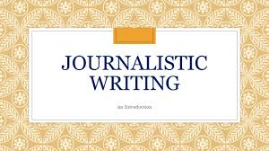 Flag You Down Journalistic Writing An Introduction Quick Activity Observation