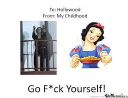 Hollywood Meme - screw yourself hollywood by marysamsonite meme center