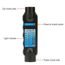 vehicle car towing trailer light 7 pin car trailer plug socket 7
