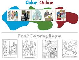 29 lds coloring pages images lds primary