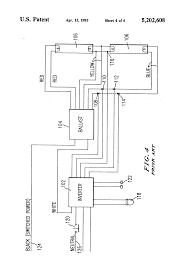 patent us5202608 emergency lighting system utilizing improved