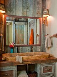 Reclaimed Wood Bathroom Chic Design Ideas With Reclaimed Wood Bathroom Vanities U2013 Corner