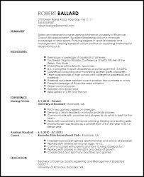 sle college resume gallery of athletic resume template