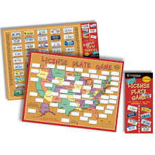 License Plate Map License Plate Game Kappa Map Group 9780762578276 Amazon Com Books