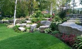awesome large rock landscaping ideas large rock garden ideas with