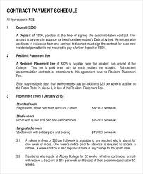 monthly payment contract template installment payment agreement