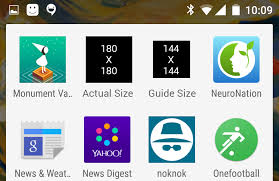 android icon size android app launcher icon actual size stack overflow