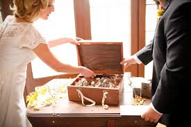 wine box wedding ceremony letter box ceremony this is so sweet with the two